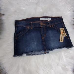 DKNY Jean Mini Skirt Size 3